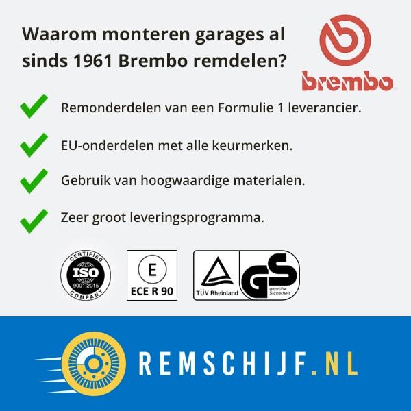 Waarom kiezen voor Brembo kwaliteit