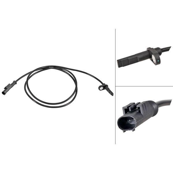 ABS-sensor voorzijde, links of rechts