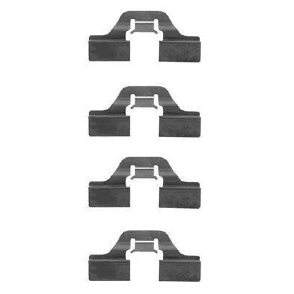 Remblok-montageset achterzijde AUDI A3 Sportback 1.6 FSI