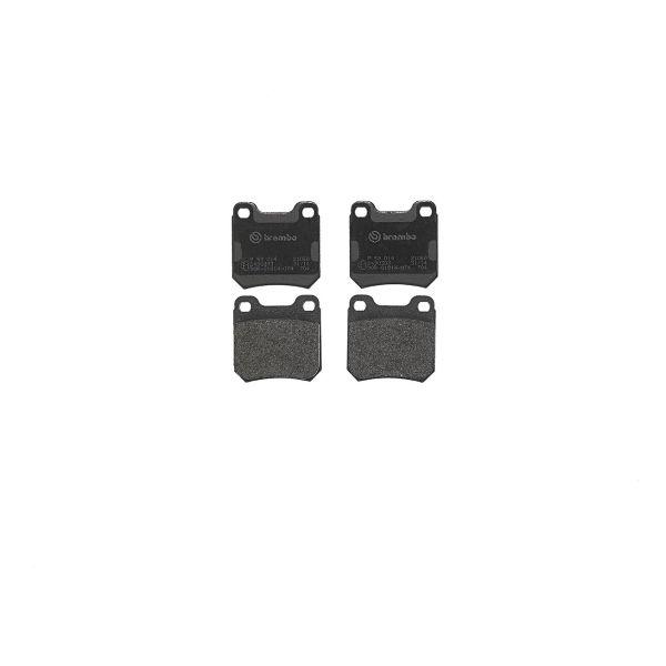 Remblokkenset achterzijde Brembo premium OPEL OMEGA B 2.6 V6
