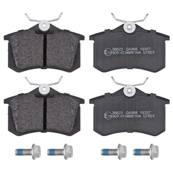 Remblokkenset achterzijde originele kwaliteit VW VOLKSWAGEN GOLF IV (1J1) 1.6 16V