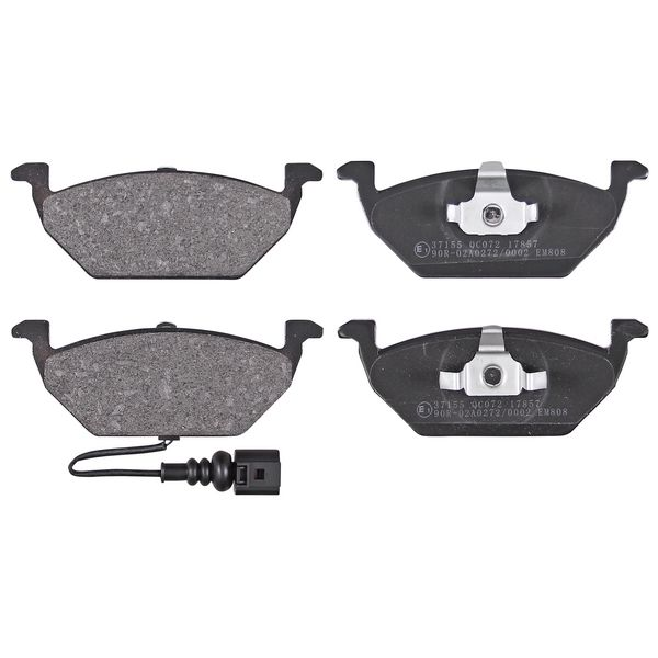Remblokkenset voorzijde originele kwaliteit VW VOLKSWAGEN GOLF IV (1J1) 1.6 16V