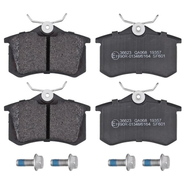 Remblokkenset achterzijde originele kwaliteit VW VOLKSWAGEN GOLF IV (1J1) 1.6