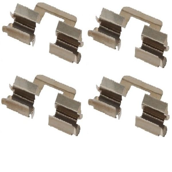 Remblok-montageset achterzijde VW VOLKSWAGEN GOLF V (1K1) 1.6 FSI