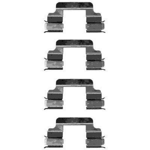 Remblok-montageset voorzijde VW VOLKSWAGEN POLO (9N_) 1.4 16V