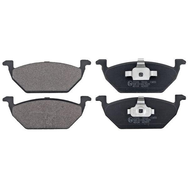 Remblokkenset voorzijde originele kwaliteit VW VOLKSWAGEN UP! (121, 122, BL1, BL2, BL3, 123) 1.0