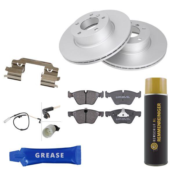 Voordeelpakket remschijven & remblokken voorzijde BMW 3 (E90) 318 i