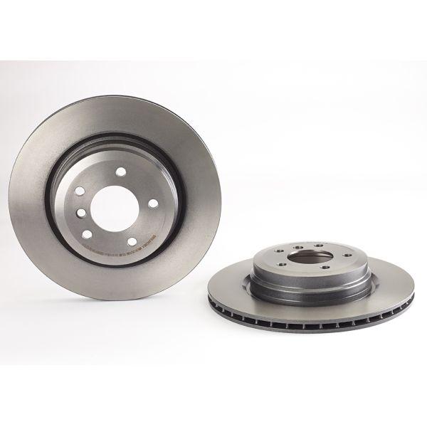 Remschijven achterzijde Brembo premium BMW 3 (E90) 330 d