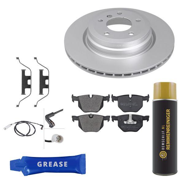 Voordeelpakket remschijven & remblokken achterzijde BMW 3 (E90) 330 d
