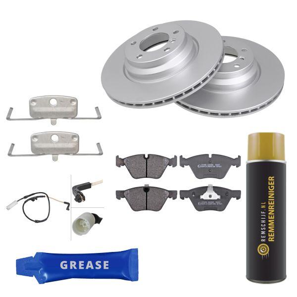 Voordeelpakket remschijven & remblokken voorzijde BMW 3 (E90) 330 d