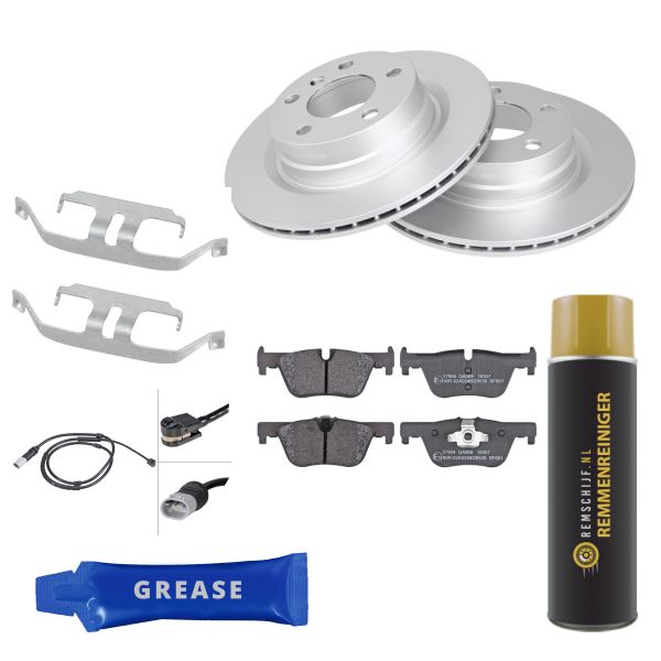 Voordeelpakket remschijven & remblokken achterzijde BMW 3 Touring (F31) 318 d