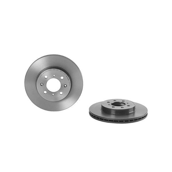 Remschijven voorzijde Brembo premium HONDA CIVIC VII Hatchback 1.4 iS