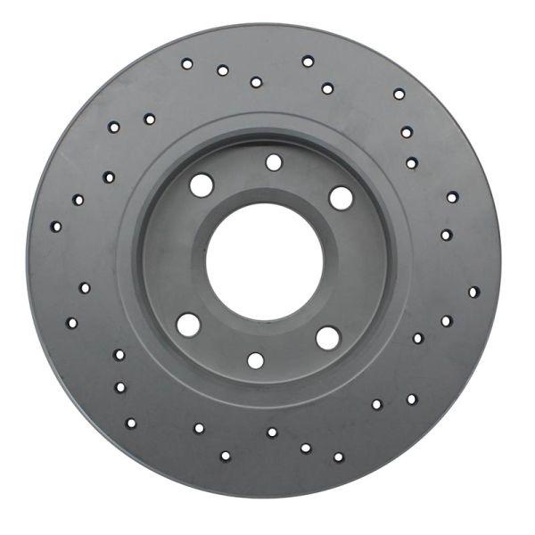 Geperforeerde remschijven achterzijde Sport kwaliteit HONDA CIVIC VII Hatchback 1.4 iS