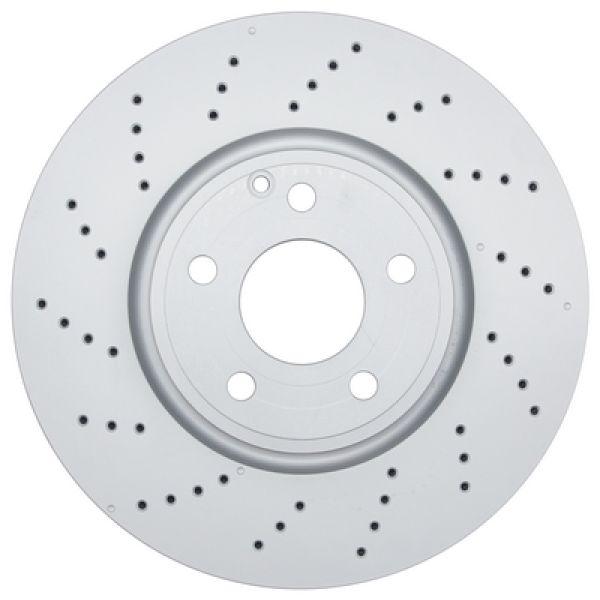 Geperforeerde remschijven voorzijde Sport kwaliteit MERCEDES-BENZ CLS (C218) CLS 220 BlueTEC / d
