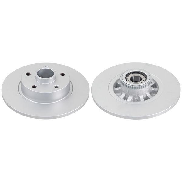 Remschijven achterzijde inclusief lagers en ABS-ring originele kwaliteit