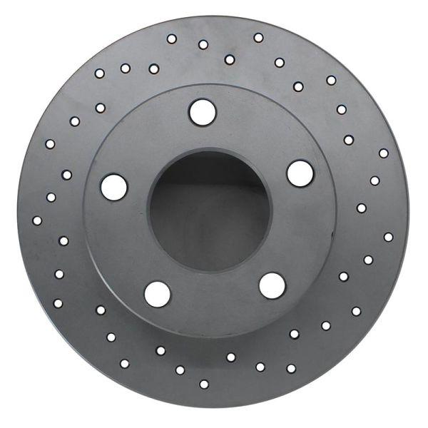 Geperforeerde remschijven achterzijde Sport kwaliteit VW VOLKSWAGEN GOLF IV (1J1) 1.6 16V