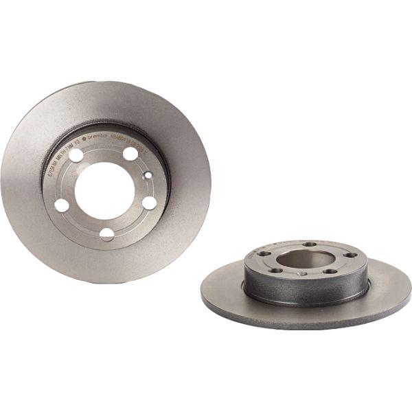 Remschijven achterzijde Brembo premium VW VOLKSWAGEN GOLF IV (1J1) 1.6