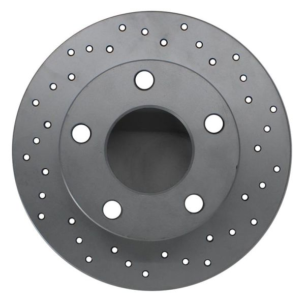 Geperforeerde remschijven achterzijde Sport kwaliteit VW VOLKSWAGEN GOLF IV (1J1) 1.6