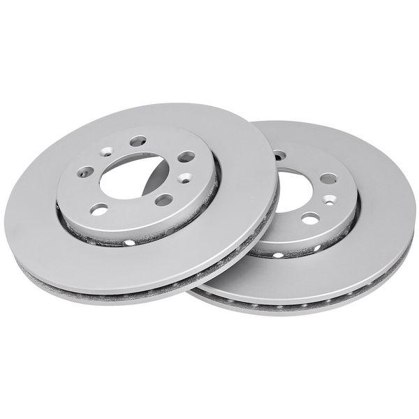 Remschijven voorzijde originele kwaliteit VW VOLKSWAGEN POLO (6R1, 6C1) 1.2 TDI