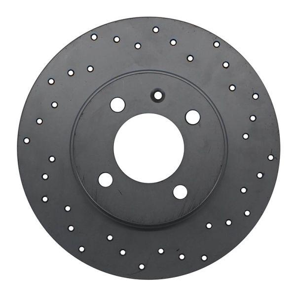 Geperforeerde remschijf voorzijde Sport kwaliteit VW VOLKSWAGEN UP! (121, 122, BL1, BL2, BL3, 123) 1.0