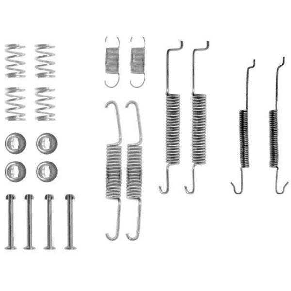 Remschoen -montageset achterzijde VW VOLKSWAGEN POLO (6N2) 1.4 16V