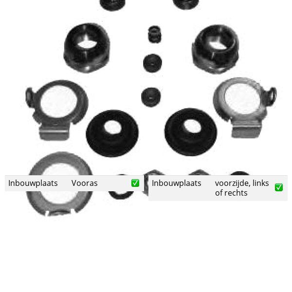 Reparatieset, spoorstangeind voorzijde, links of rechts ROVER MINI Hatchback 1000